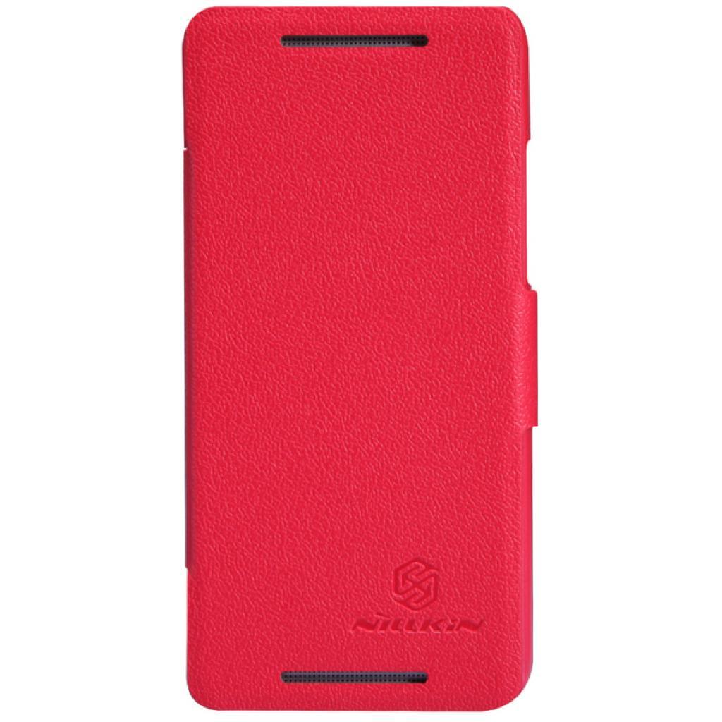 Чехол для моб. телефона NILLKIN для HTC ONE mini/M4- Fresh/ Leather/Red (6076843)