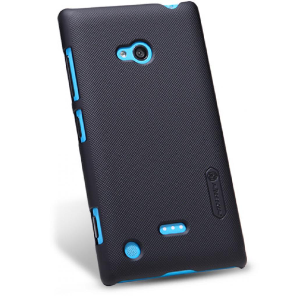 Чехол для моб. телефона NILLKIN для Nokia 720 /Super Frosted Shield/Black (6065784) изображение 2