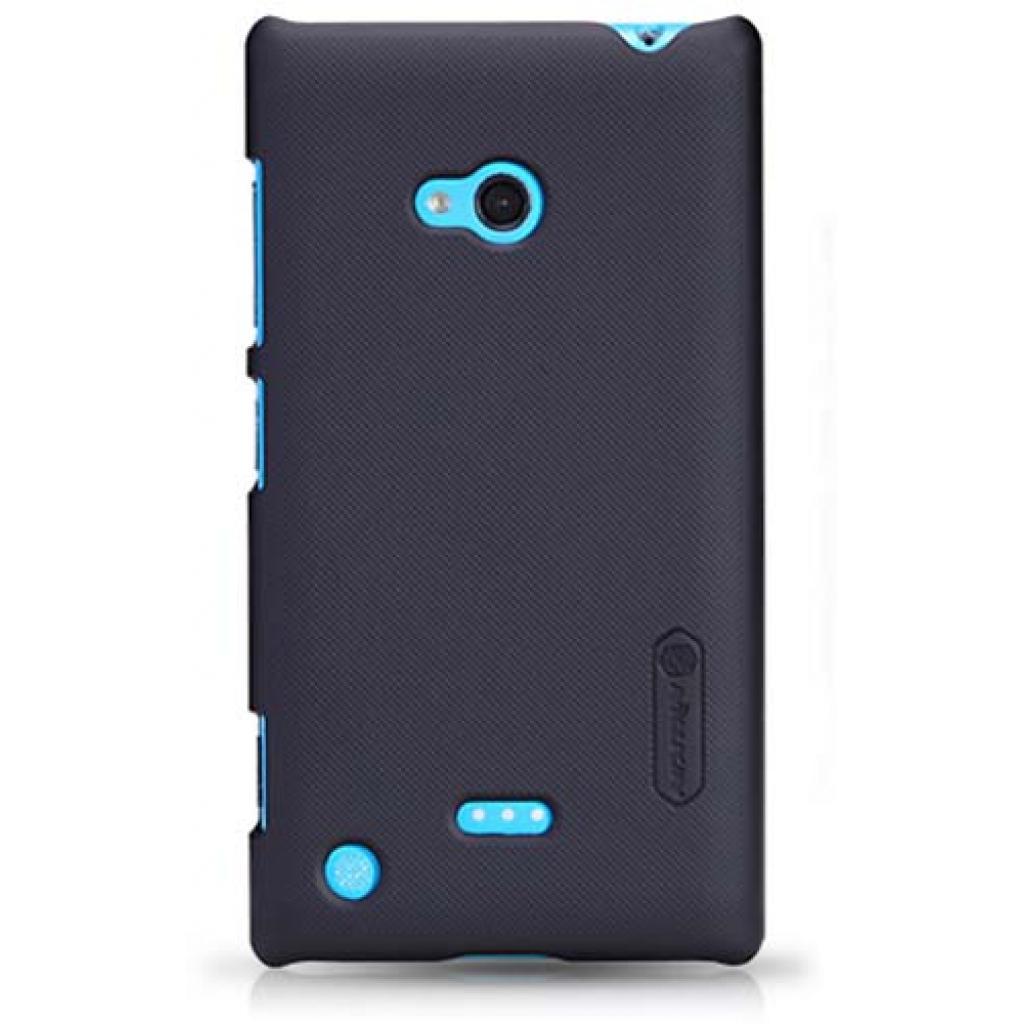 Чехол для моб. телефона NILLKIN для Nokia 720 /Super Frosted Shield/Black (6065784)