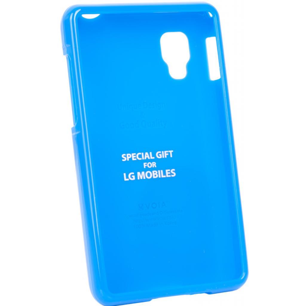 Чехол для моб. телефона VOIA для LG E440 Optimus L4II /Jelly/Blue (6068181)