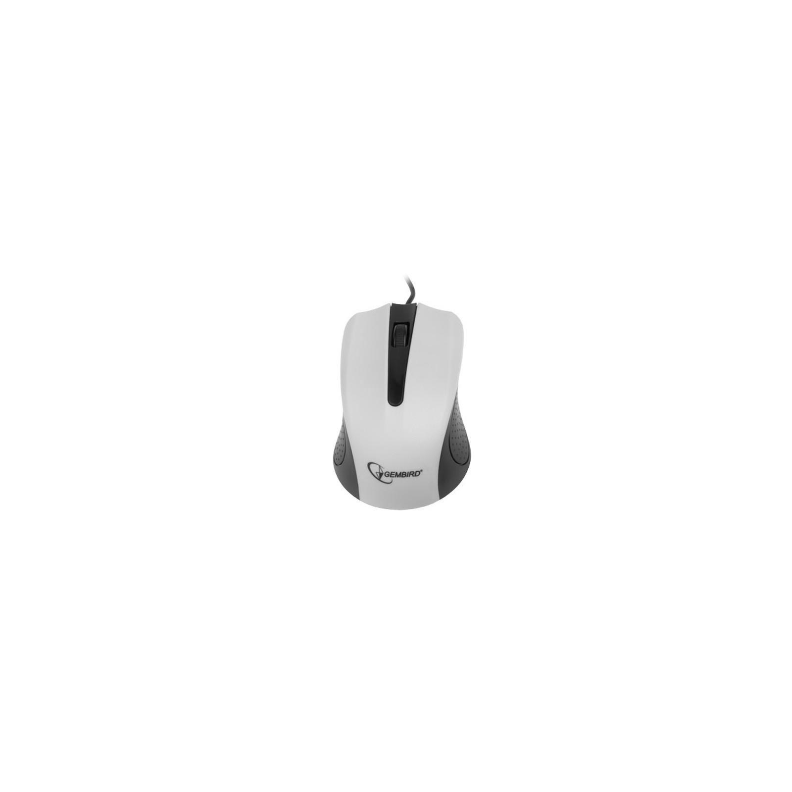 Мышка GEMBIRD MUS-101-W изображение 3