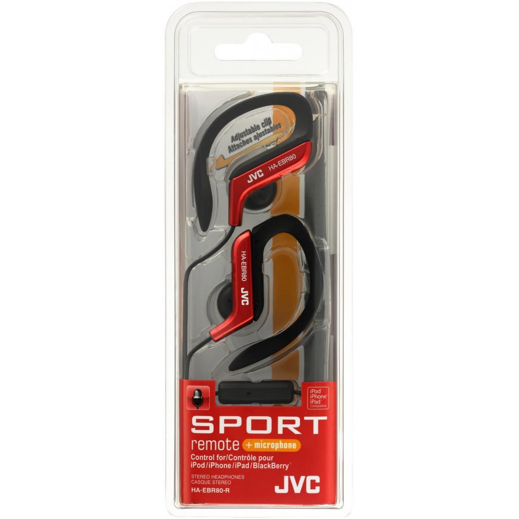 Наушники JVC HA-EBR80 Red Sport (HA-EBR80-R-E) изображение 4