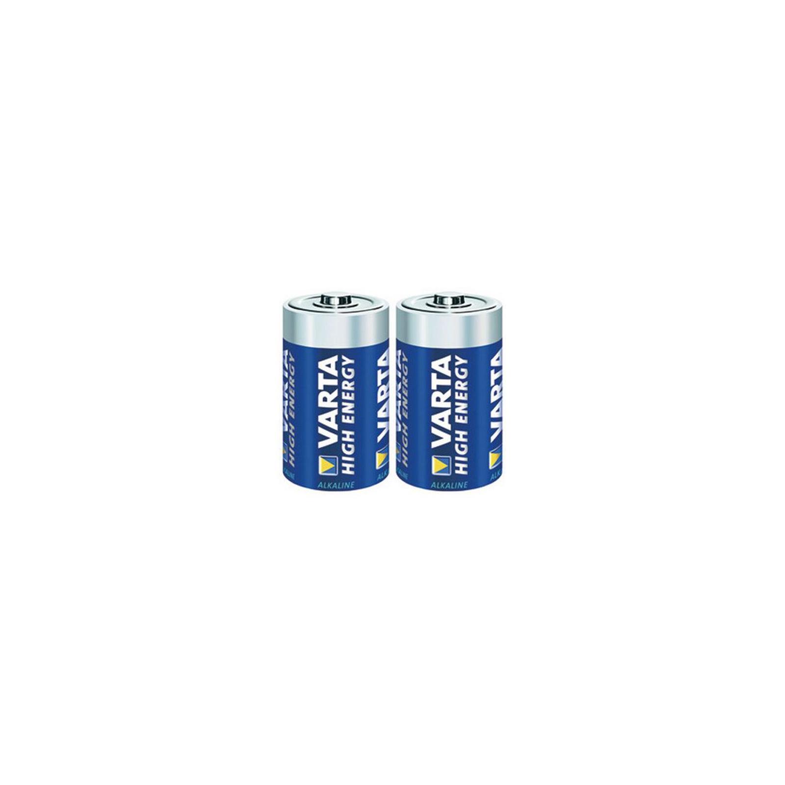 Батарейка Varta HIGH Energy ALKALINE * 2 (4914121412) изображение 2