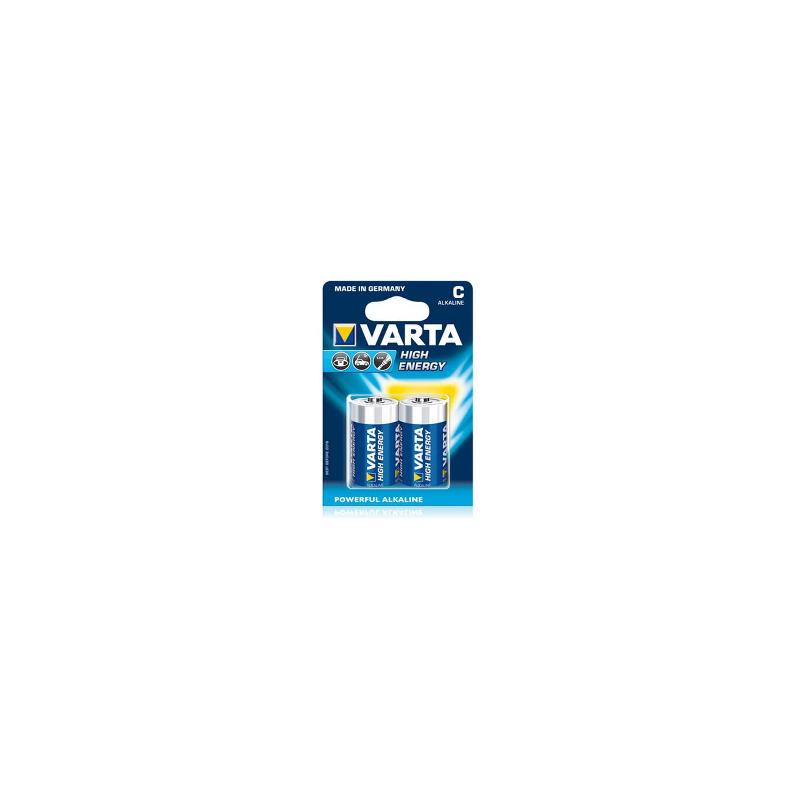 Батарейка Varta HIGH Energy ALKALINE * 2 (4914121412)