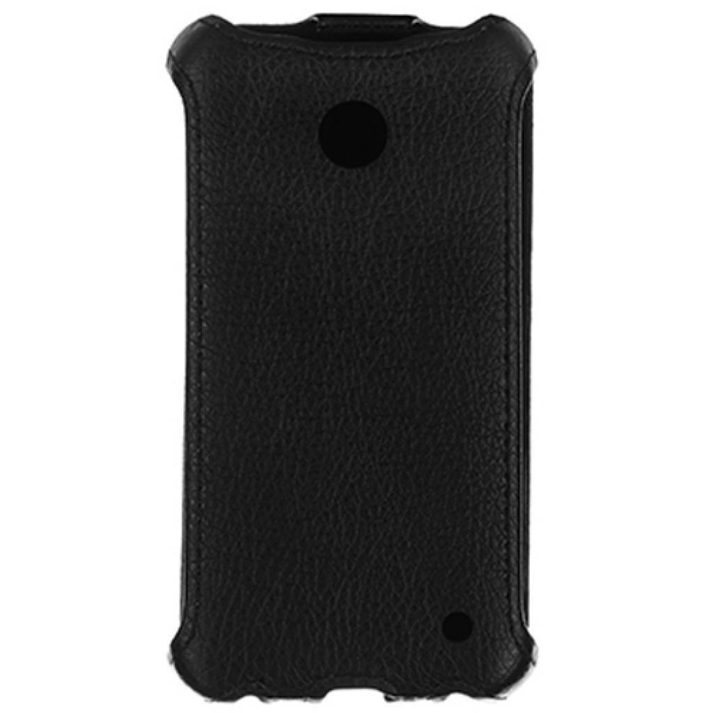 Чехол для моб. телефона для Nokia Lumia 630 (Black) Lux-flip Drobak (215126) изображение 2