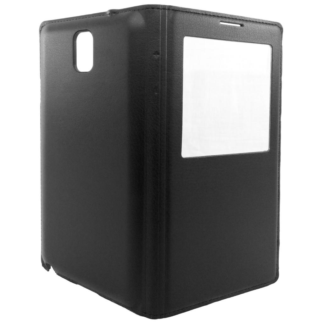 Чехол для моб. телефона GLOBAL для Samsung N9000 Galaxy Note III (черный) (1283126458965)