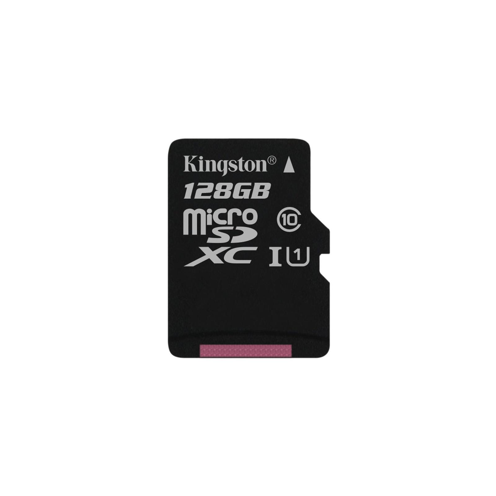 Карта памяти Kingston 128GB microSDXC Class 10 UHS| (SDC10G2/128GBSP)
