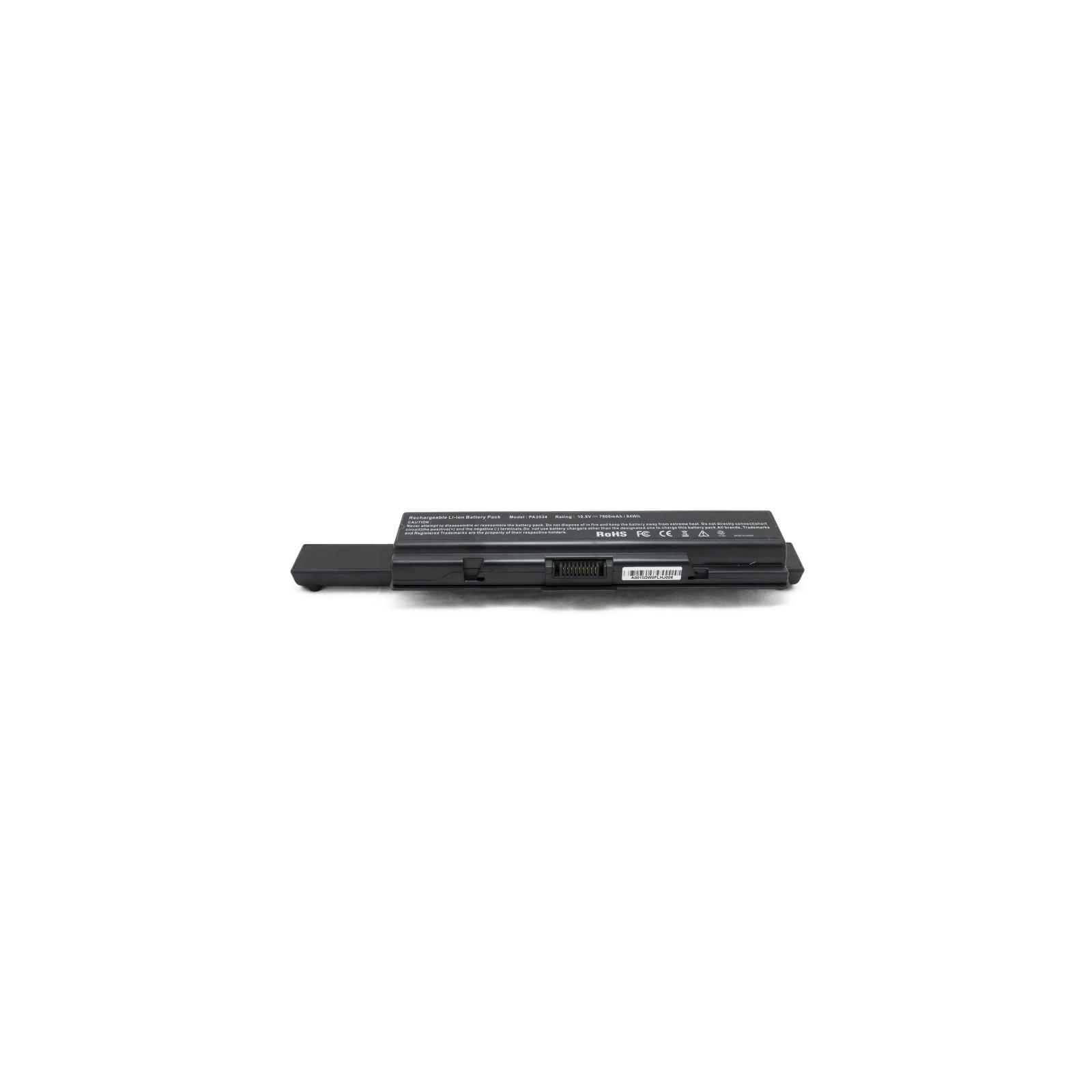 Аккумулятор для ноутбука Toshiba Satellite L500 (PA3534U) 7800 mAh EXTRADIGITAL (BNT3960) изображение 4