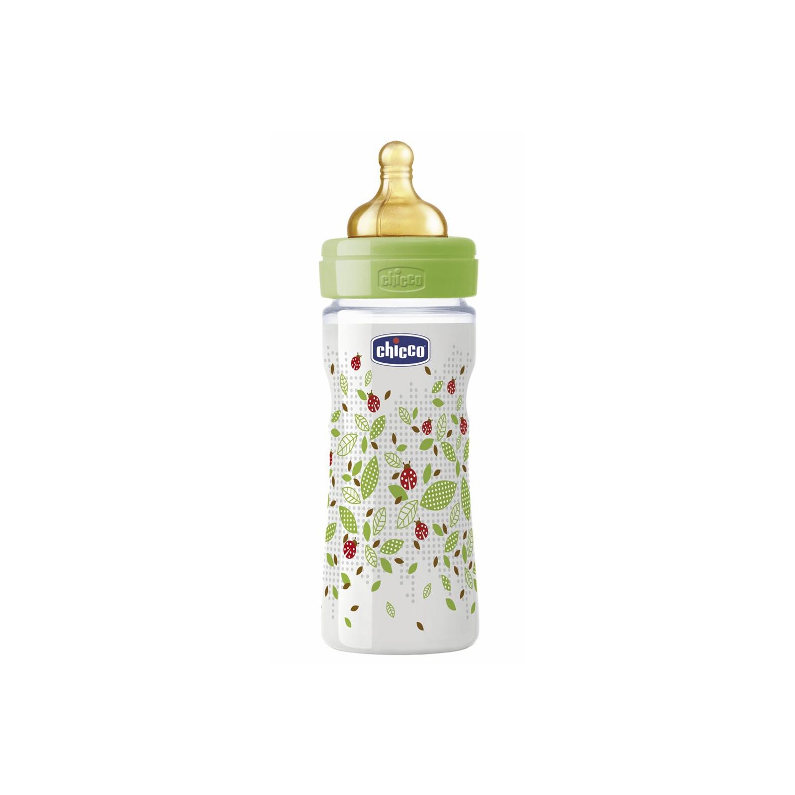 Бутылочка для кормления Chicco Well-Being 250 мл с латексной соской 2 мес+ (70760.00.04)