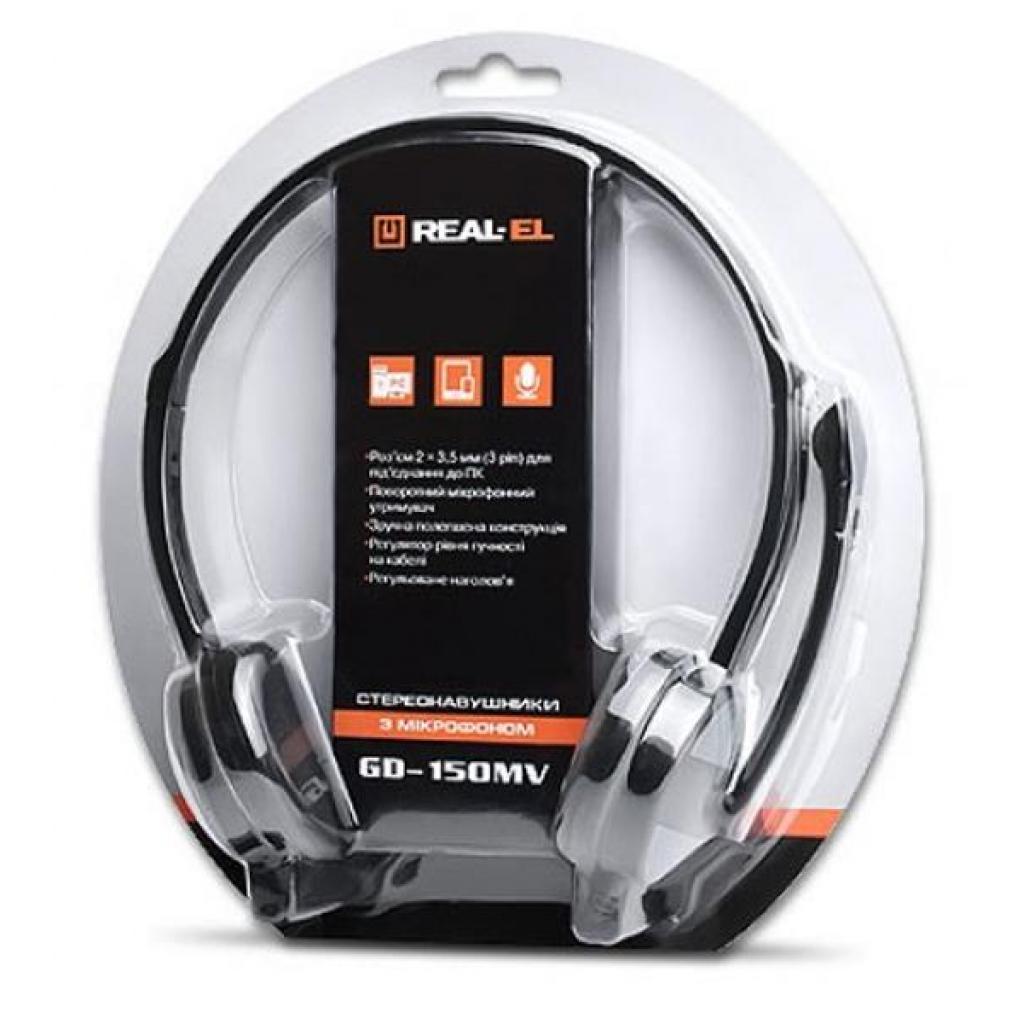 Наушники REAL-EL GD-150MV изображение 5