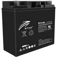 Батарея к ИБП Ritar AGM RT12180B, 12V-18Ah, Black (RT12180B)