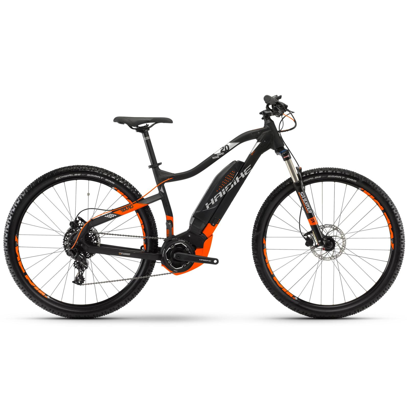 """Электровелосипед Haibike SDURO HardNine 2.0 29"""" 400Wh, рама 55см, 2018 (4540064855)"""