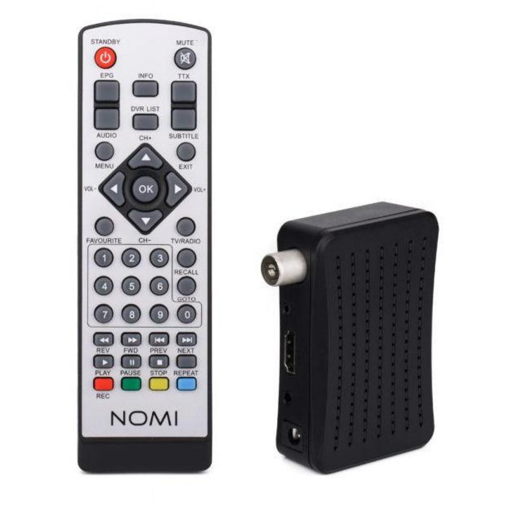 ТВ тюнер Nomi DVB-T2 T201 (238688) изображение 5