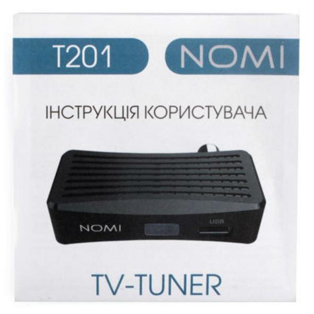 ТВ тюнер Nomi DVB-T2 T201 (238688) изображение 7
