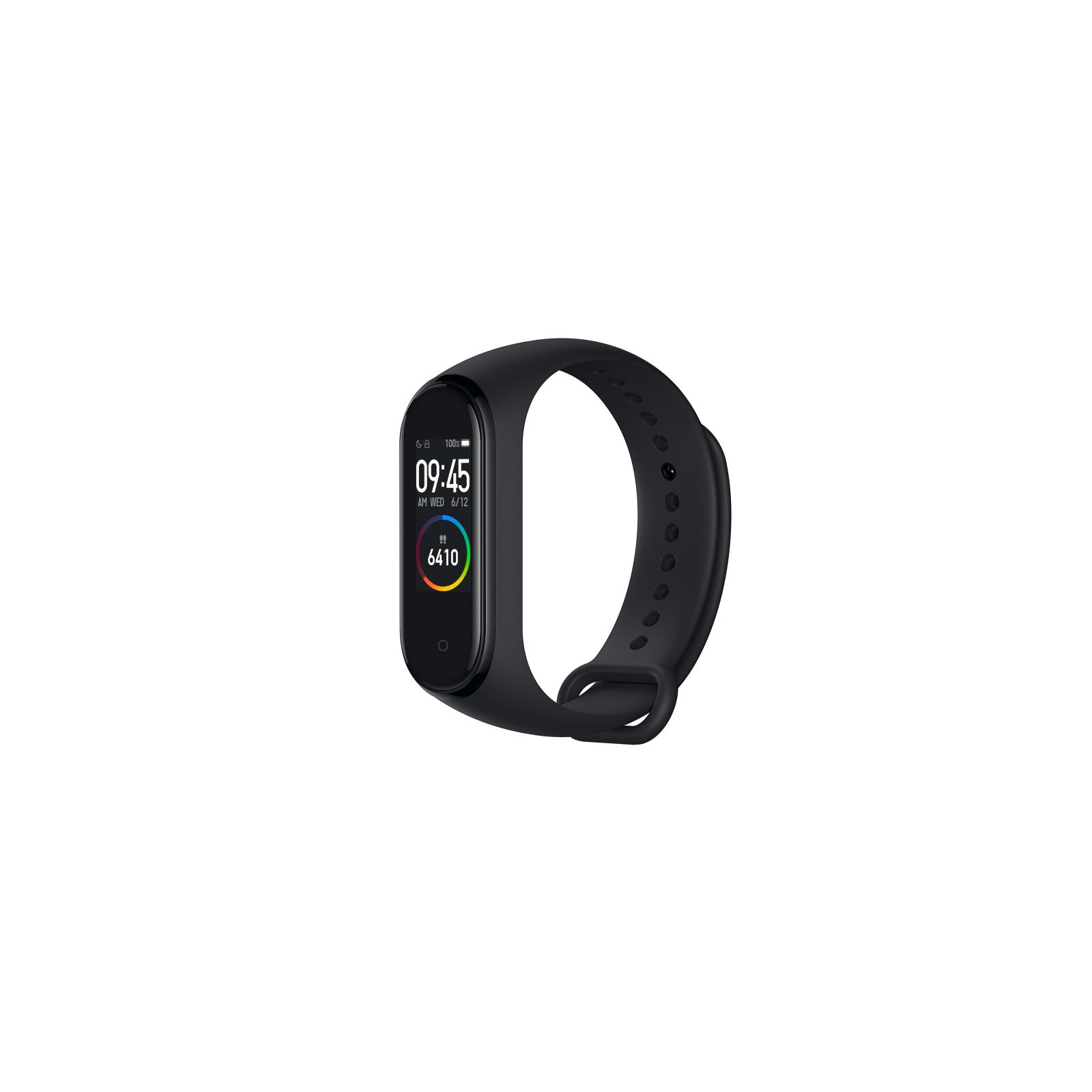 Фитнес браслет Xiaomi Mi Smart Band 4 Black изображение 2