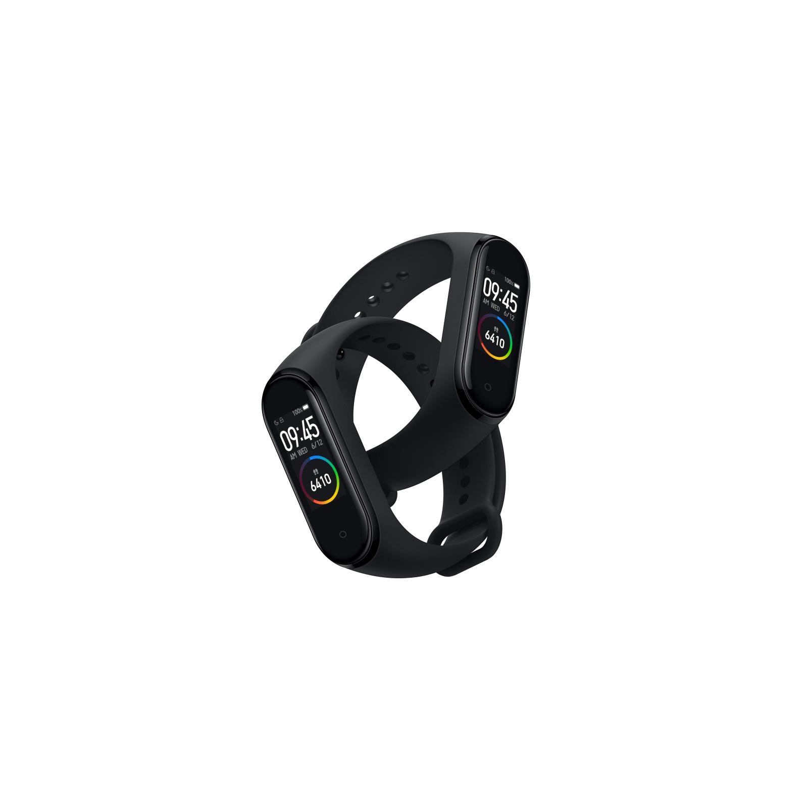 Фитнес браслет Xiaomi Mi Smart Band 4 Black изображение 5