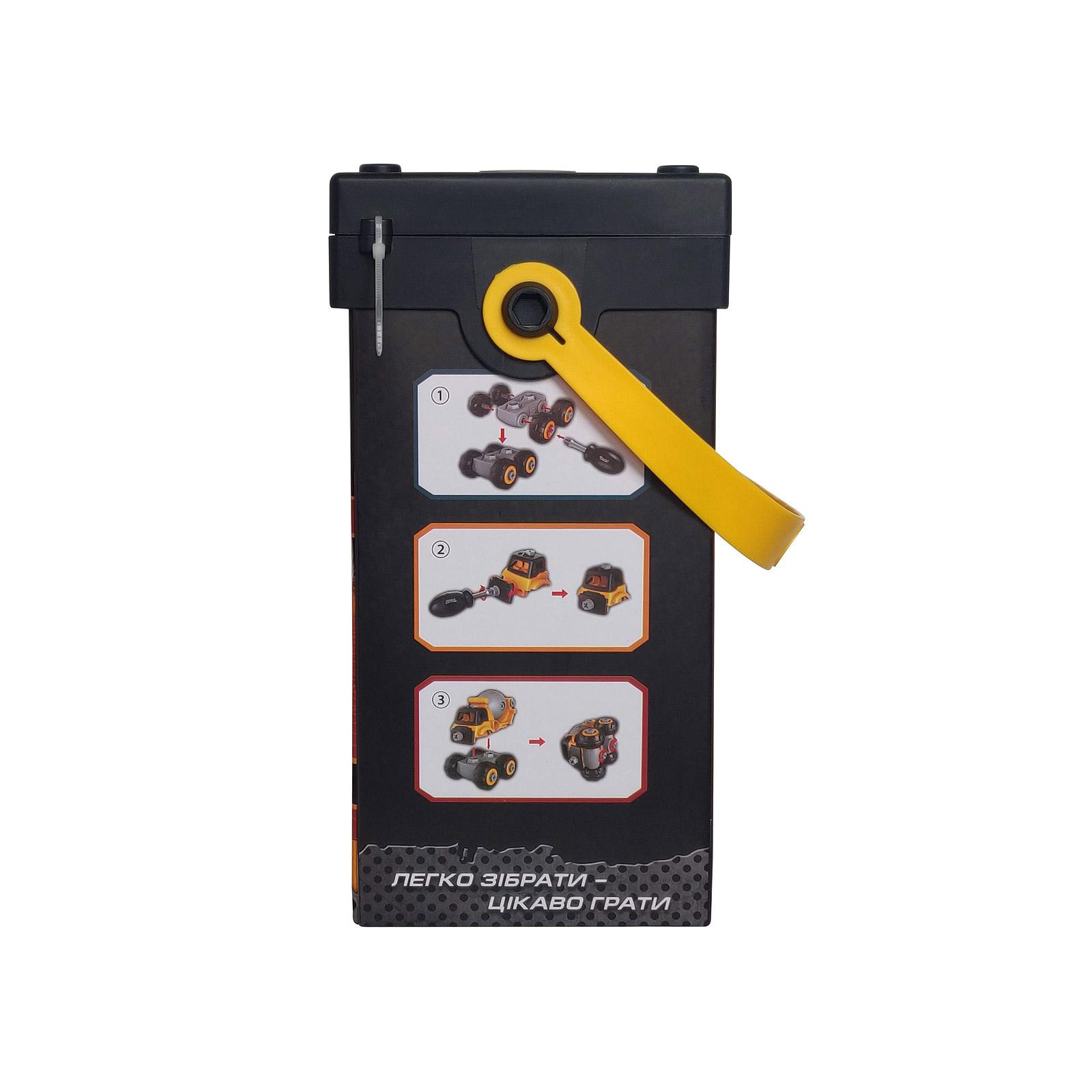 Конструктор Microlab Toys Строительная техника - бетономешалка (MT8908) изображение 4