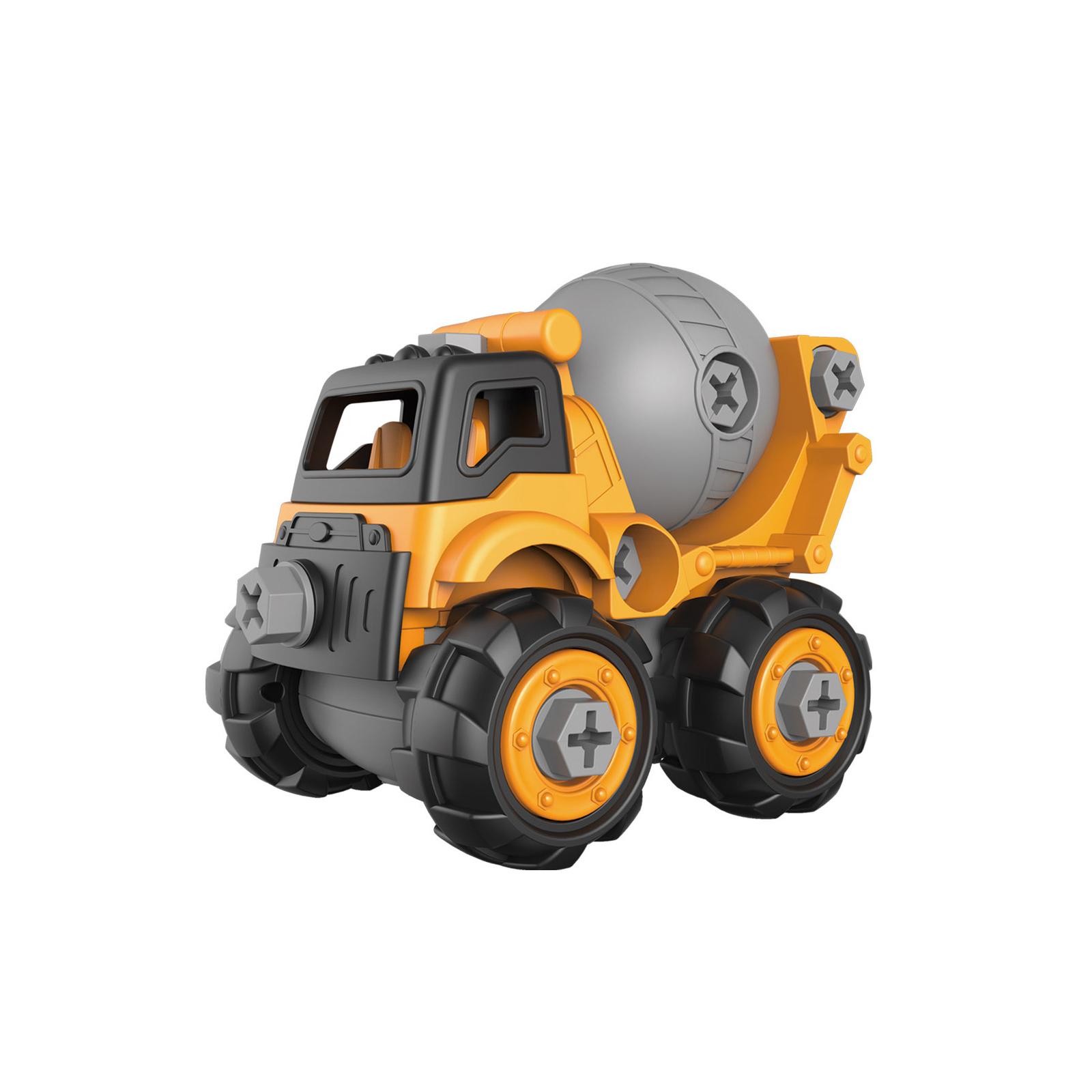 Конструктор Microlab Toys Строительная техника - бетономешалка (MT8908)