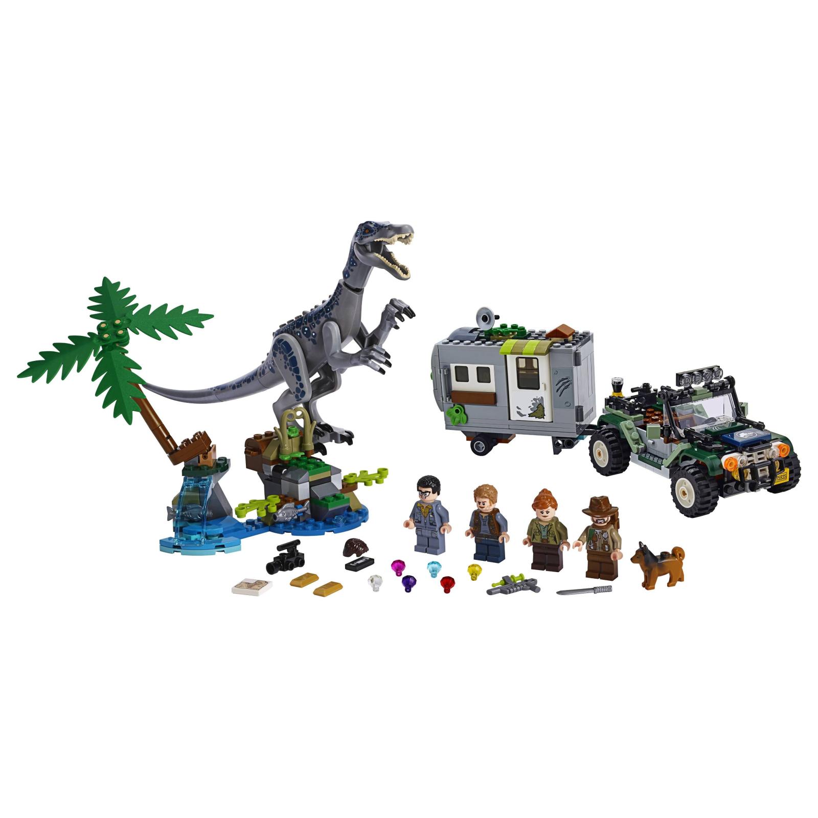 Конструктор LEGO Jurassic World Поединок с бариониксом: охота за сокровищами (75935) изображение 2