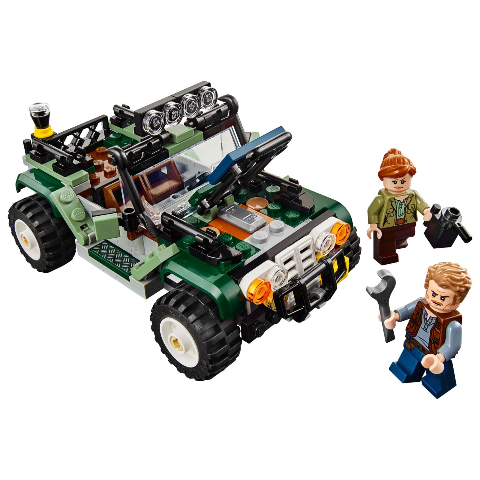 Конструктор LEGO Jurassic World Поединок с бариониксом: охота за сокровищами (75935) изображение 3