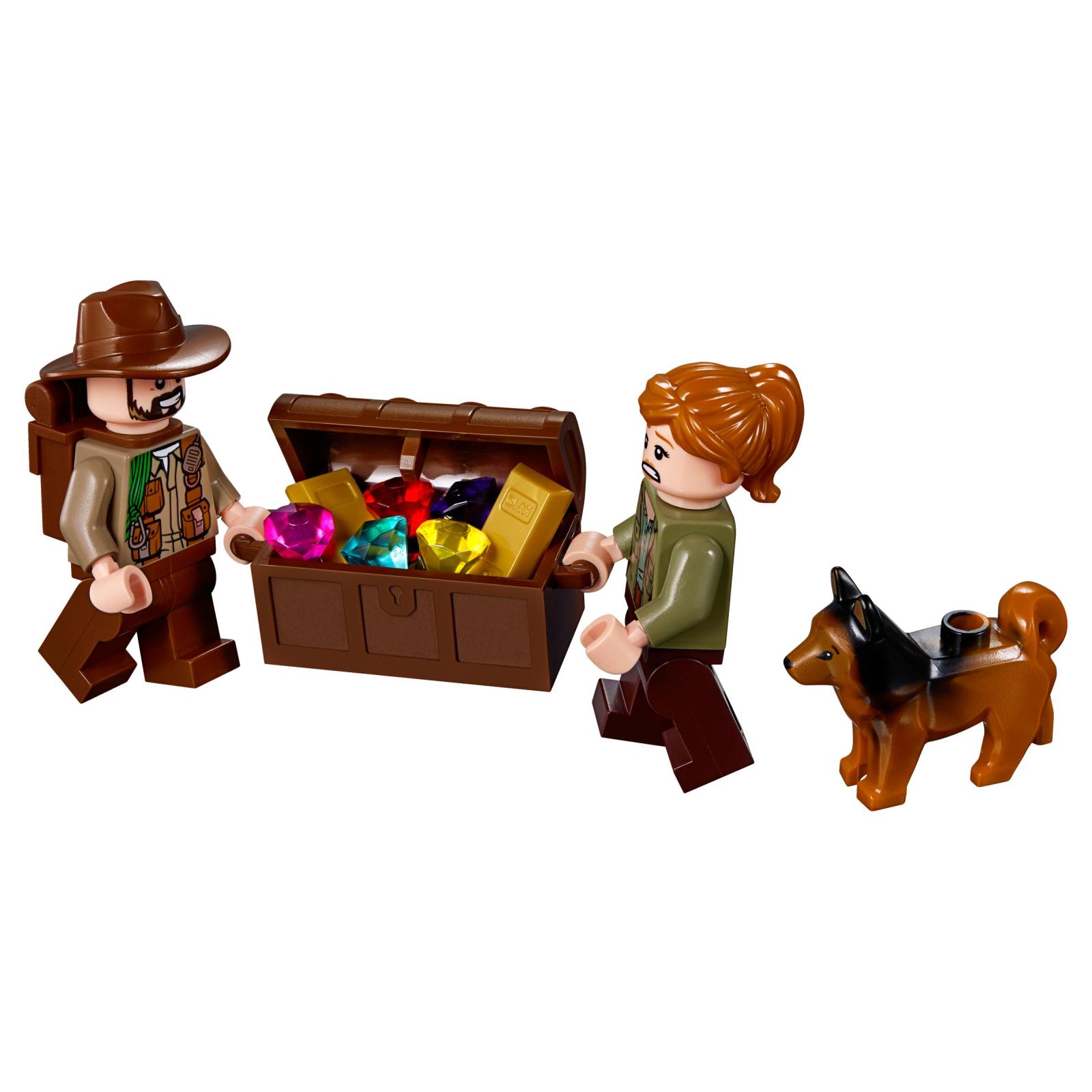 Конструктор LEGO Jurassic World Поединок с бариониксом: охота за сокровищами (75935) изображение 6