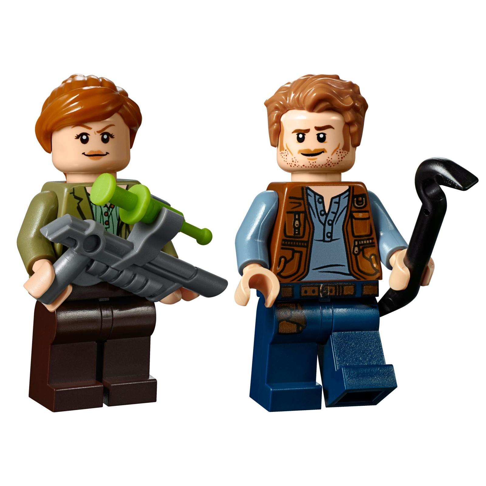 Конструктор LEGO Jurassic World Поединок с бариониксом: охота за сокровищами (75935) изображение 8