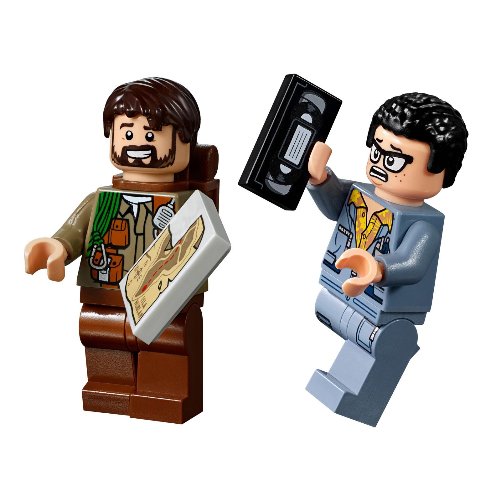 Конструктор LEGO Jurassic World Поединок с бариониксом: охота за сокровищами (75935) изображение 9