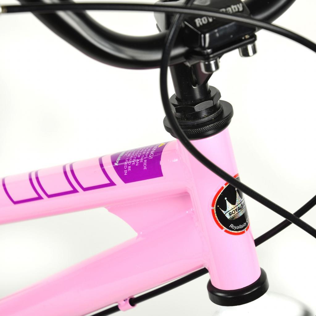 """Детский велосипед Royal Baby Freestyle 16"""", Official UA, красный (RB16B-6-RED) изображение 3"""