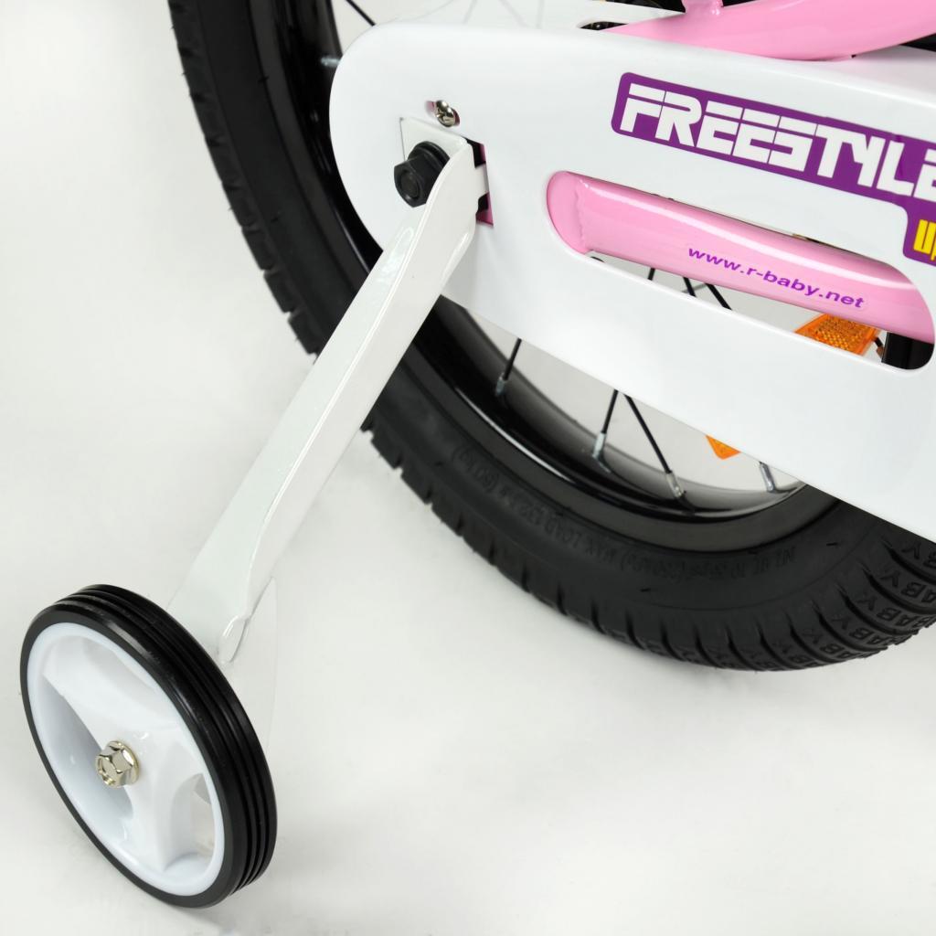 """Детский велосипед Royal Baby Freestyle 16"""", Official UA, красный (RB16B-6-RED) изображение 5"""