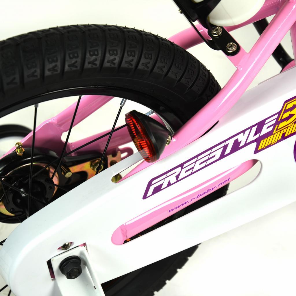 """Детский велосипед Royal Baby Freestyle 16"""", Official UA, красный (RB16B-6-RED) изображение 7"""