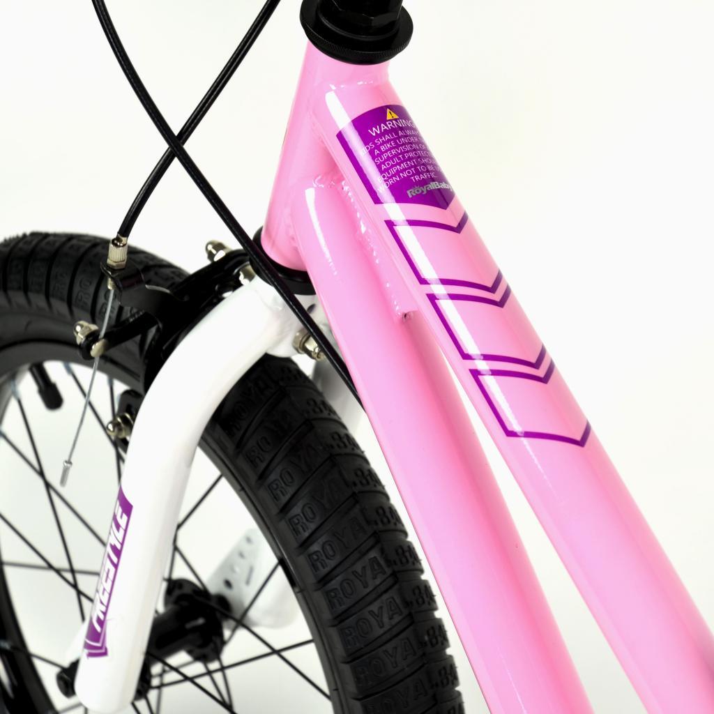 """Детский велосипед Royal Baby Freestyle 16"""", Official UA, красный (RB16B-6-RED) изображение 8"""