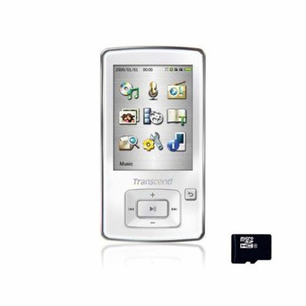mp3 плеер Transcend T.sonic 870 8GB (TS8GMP870W)