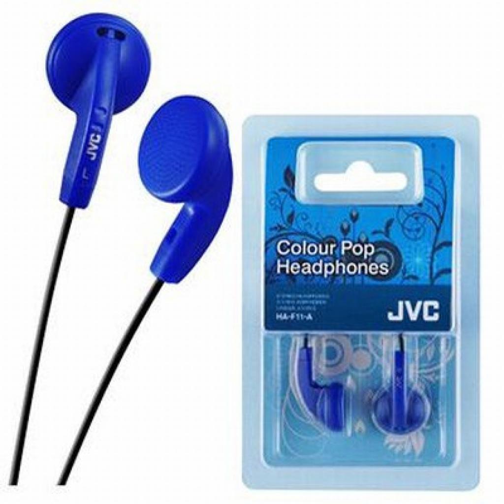 Наушники JVC HA-F11 Blue (HA-F11-A-E)