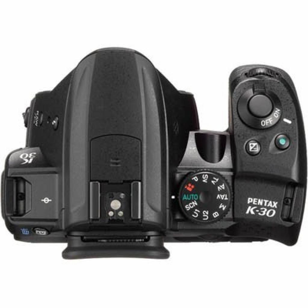 Цифровой фотоаппарат Pentax K-30 black body (15612) изображение 3