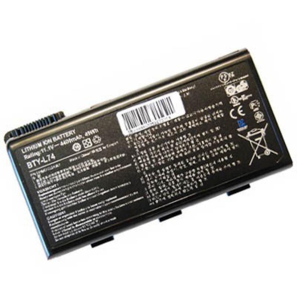 Аккумулятор для ноутбука MSI BTY-L74 O 44