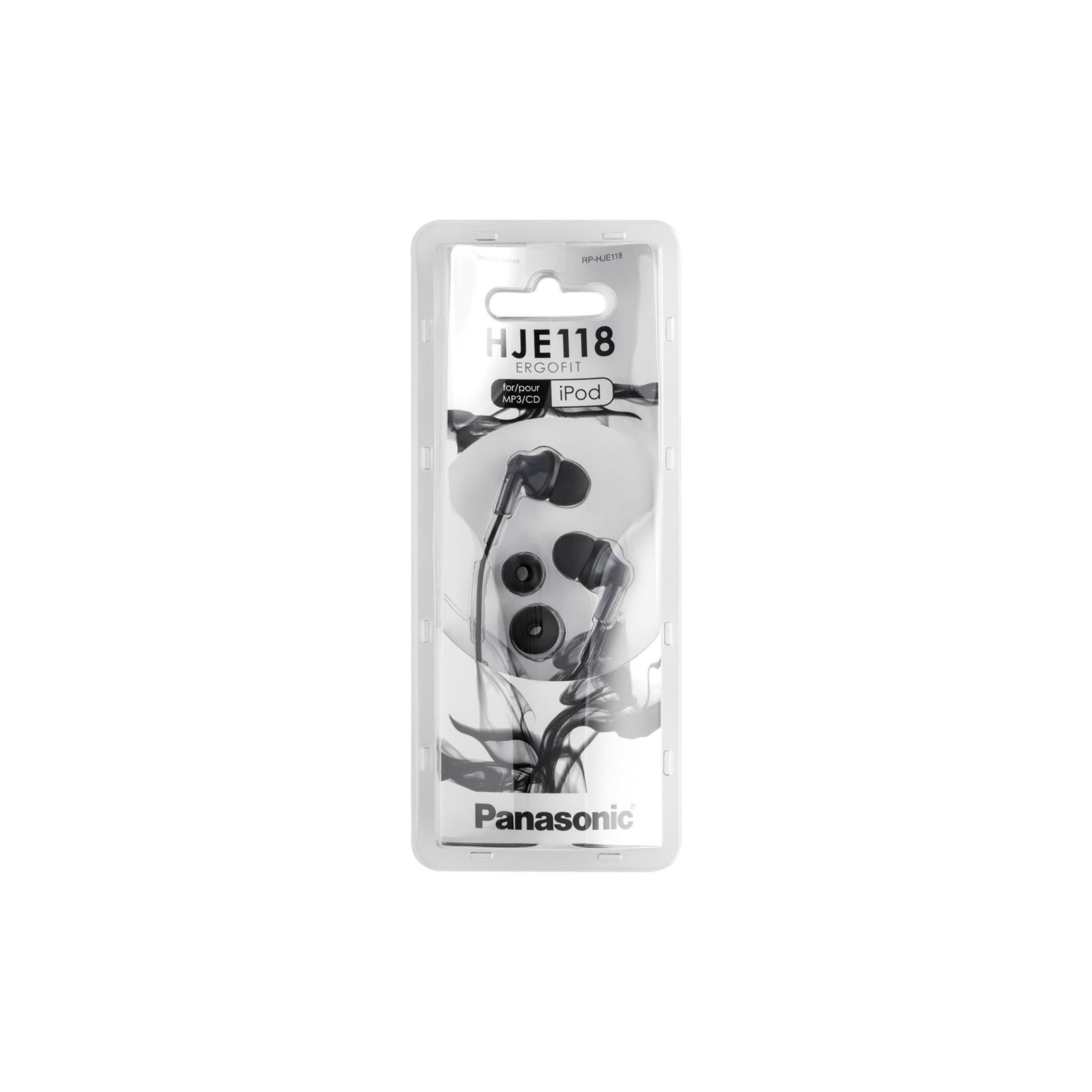 Наушники PANASONIC RP-HJE118GU-K изображение 4