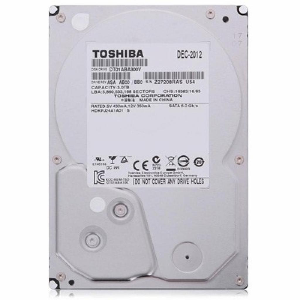 "Жесткий диск 3.5"" 3TB TOSHIBA (DT01ABA300V)"