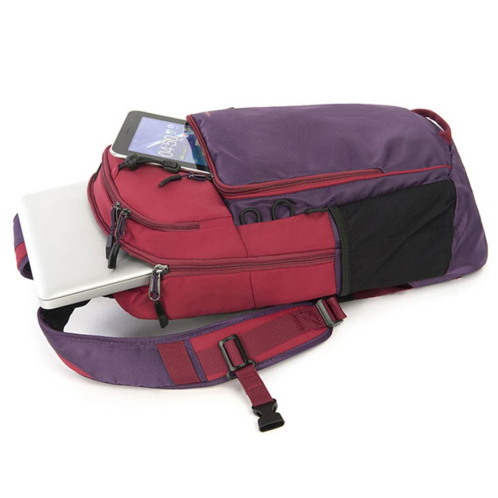 Рюкзак для ноутбука Tucano 15.6 Tech-Yo BackPack /Red-Purple (BKTY-RP) изображение 2