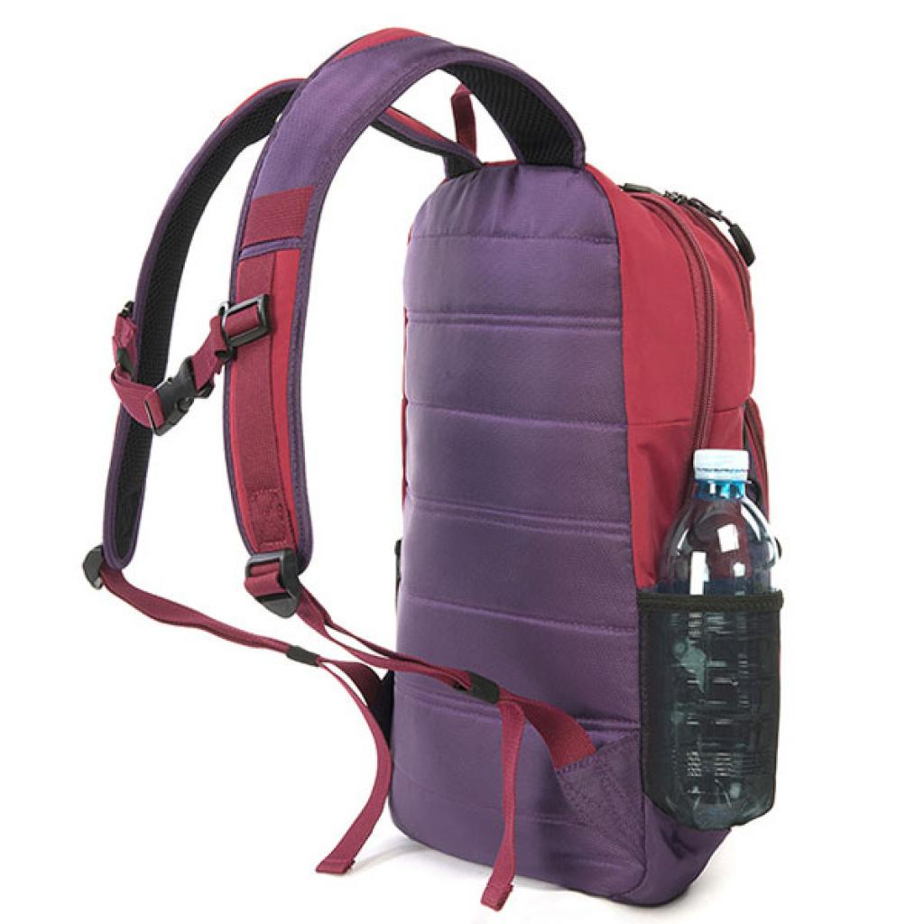 Рюкзак для ноутбука Tucano 15.6 Tech-Yo BackPack /Red-Purple (BKTY-RP) изображение 3
