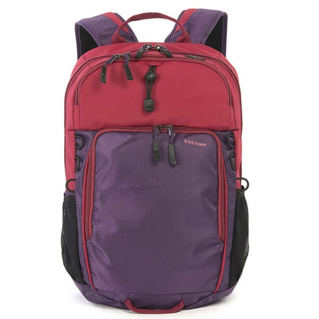 Рюкзак для ноутбука Tucano 15.6 Tech-Yo BackPack /Red-Purple (BKTY-RP) изображение 5