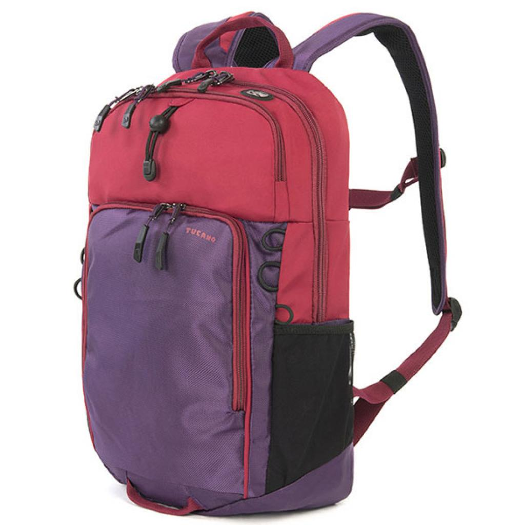 Рюкзак для ноутбука Tucano 15.6 Tech-Yo BackPack /Red-Purple (BKTY-RP)