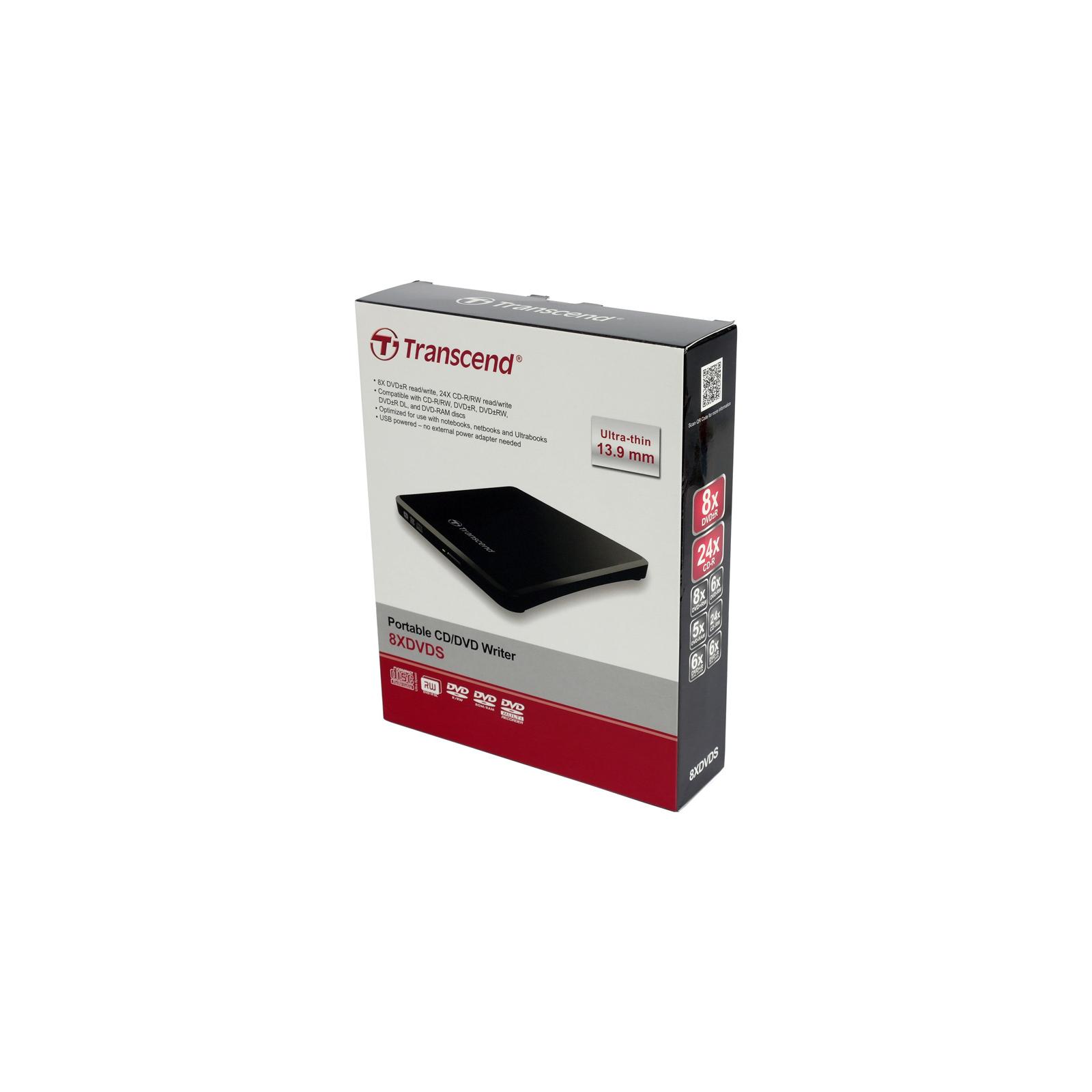 Оптический привод DVD±RW Transcend TS8XDVDS-K изображение 9