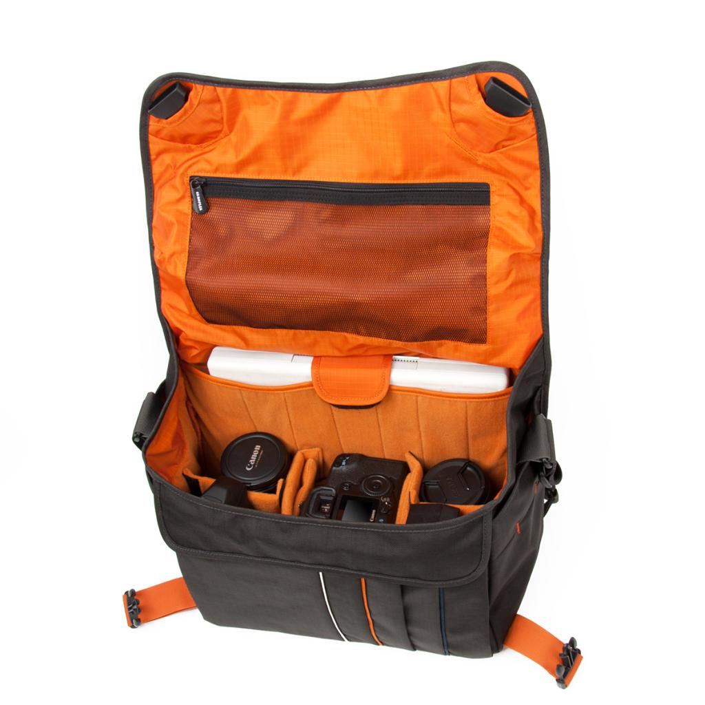 Фото-сумка Crumpler Jackpack 9000 (grey black / orange)+15`NB (JP9000-005) изображение 2