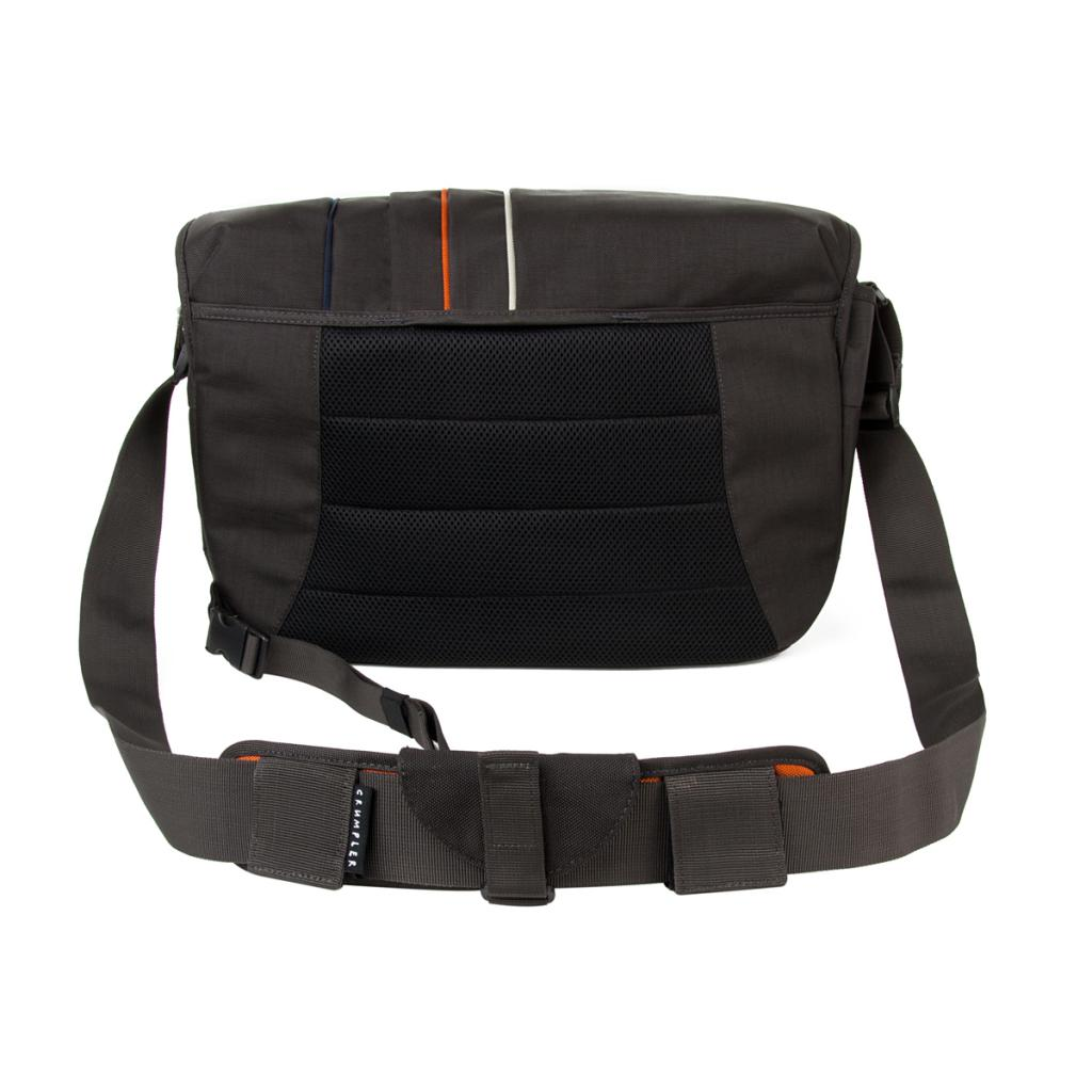 Фото-сумка Crumpler Jackpack 9000 (grey black / orange)+15`NB (JP9000-005) изображение 6