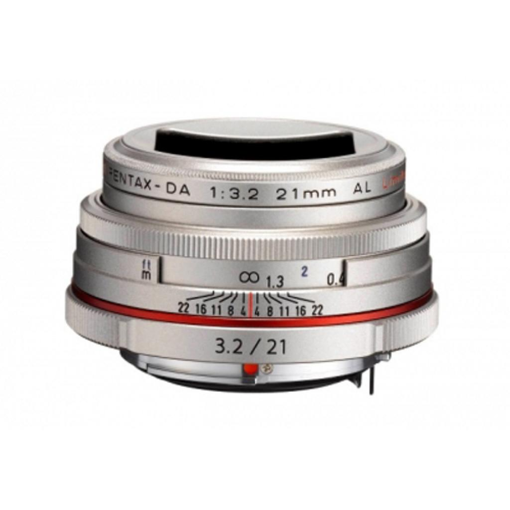 Объектив Pentax HD DA 21mm f/3.2 AL Limited Silver (21420) изображение 2