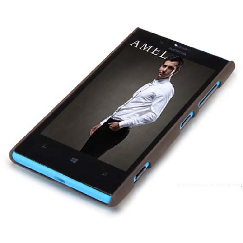 Чехол для моб. телефона NILLKIN для Nokia 720 /Super Frosted Shield/Brown (6065785) изображение 2