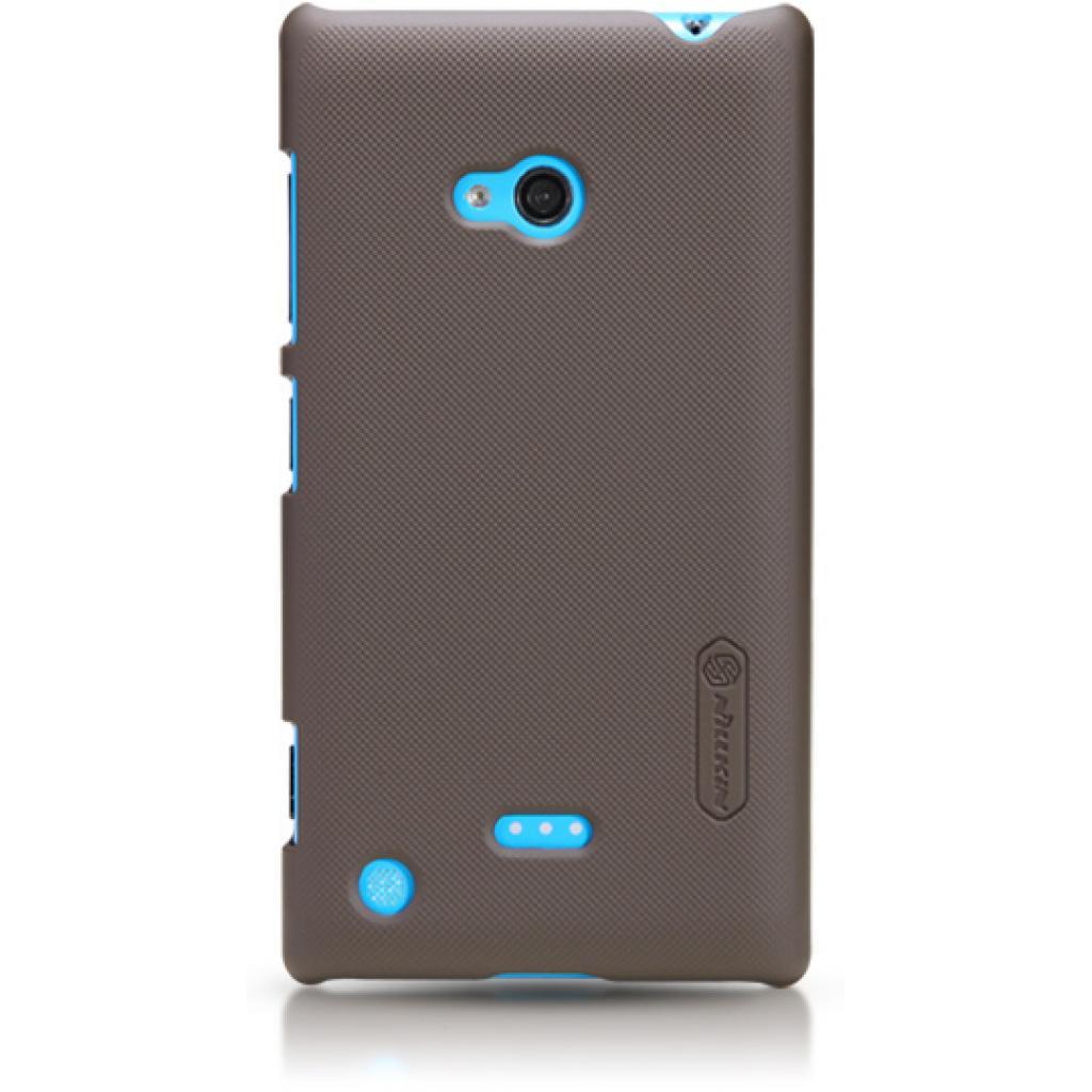 Чехол для моб. телефона NILLKIN для Nokia 720 /Super Frosted Shield/Brown (6065785)