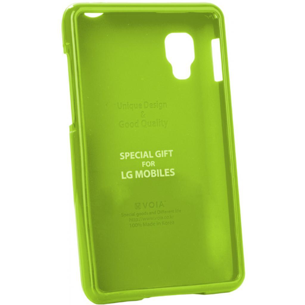 Чехол для моб. телефона VOIA для LG E440 Optimus L4II /Jelly/Lime (6068185)