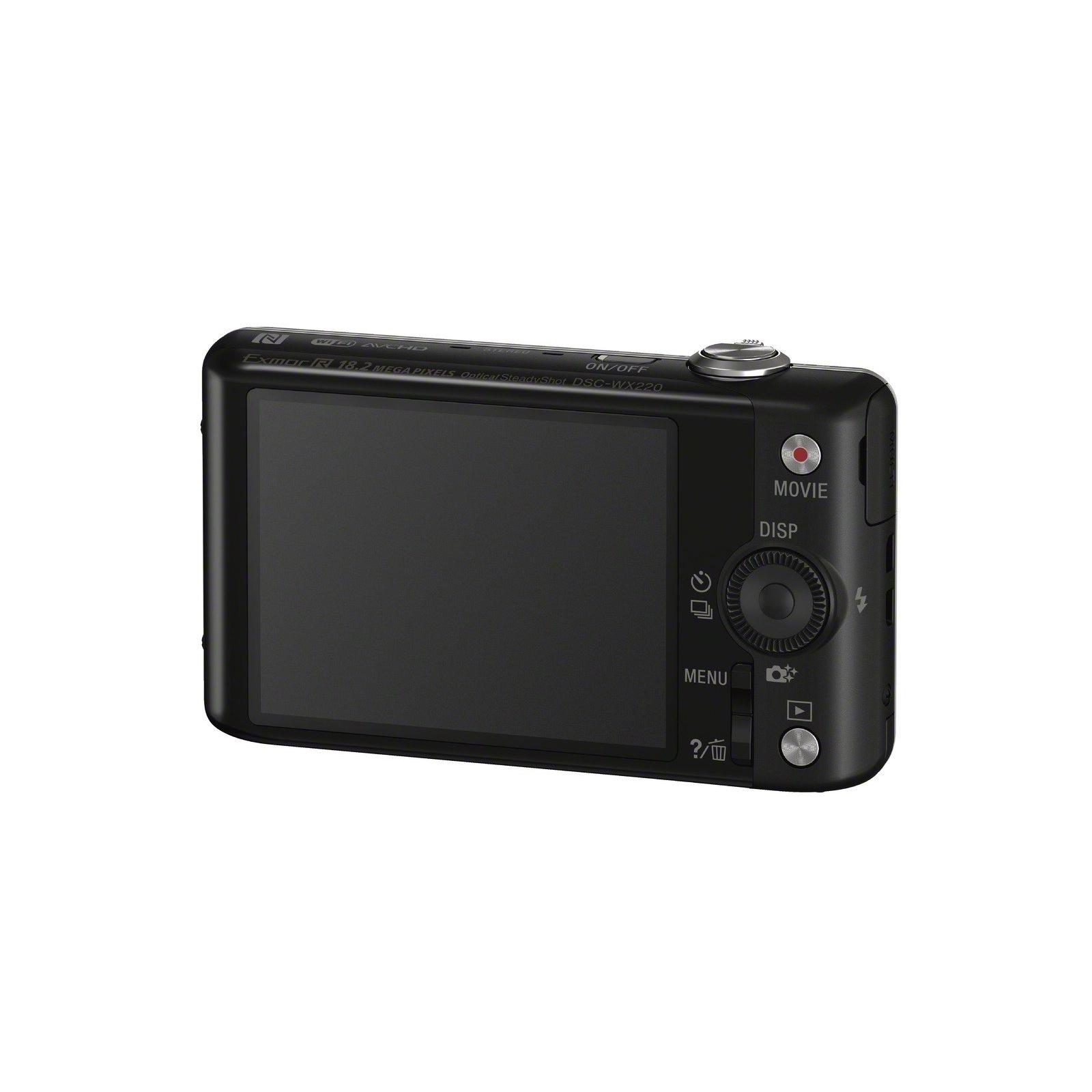 Цифровой фотоаппарат SONY Cyber-Shot WX220 Black (DSCWX220B.RU3) изображение 5