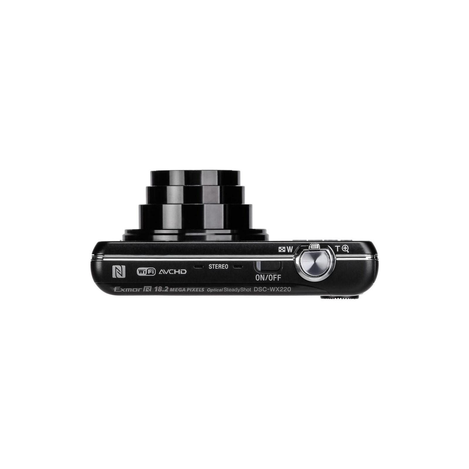 Цифровой фотоаппарат SONY Cyber-Shot WX220 Black (DSCWX220B.RU3) изображение 8